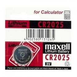 Bateria CR-2025 Maxwell