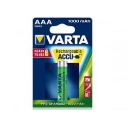 Akumulator Varta R-3 1000 mAh