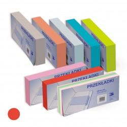 Przekładka Separator 1/3 A4 Tress a100 Pastel Czerwony