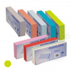 Przekładka Separator 1/3 A4 Tress a100 Pastel Zielony