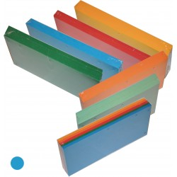 Przekładka Separator 1/3 A4 Tress a100 Intensywny Niebieski