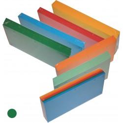 Przekladka Separator 1/3 A4 Tress a100 Intensywny Zielony
