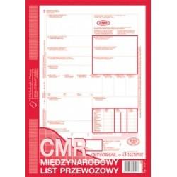 Druk Międzynarodowy List Przewozowy 800-1 1+3 skł.