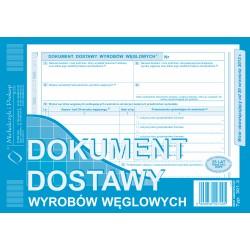 Dokument Dostawy Wyrobów Węglowych 301-3