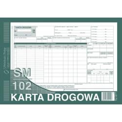 Druk Karta Drogowa A4 samochód ciężarowy 801-1