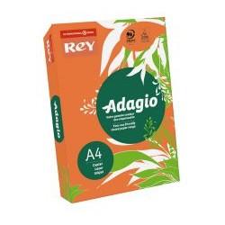 Papier Adagio A4 80g Intensywnie Pomarańczowy 21