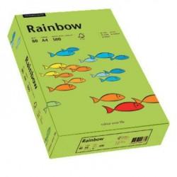 Papier Rainbow A4 160g Wiosenna Zieleń 74