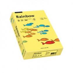Papier Rainbow A4 80g Jasny Żółty 12
