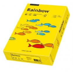 Papier Rainbow A4 160g Żółty 18