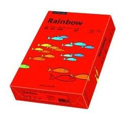Papier Rainbow A4 160g Czerwony 28