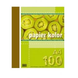 Papier Ksero Kreska A4 80g Brąz 0897