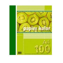 Papier Ksero Kreska A4 80g Ciema Zieleń 799