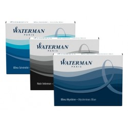 Waterman Naboje Niebieskie Długie