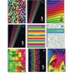 Kołozeszyt B5/100k Interdruk Five Color Register