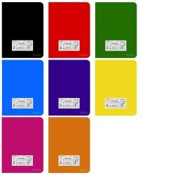 Zeszyt B5 Herlitz Rainbow 96k