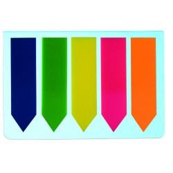 Zakładki Indeksujące Tres 45x12 mm 5-color