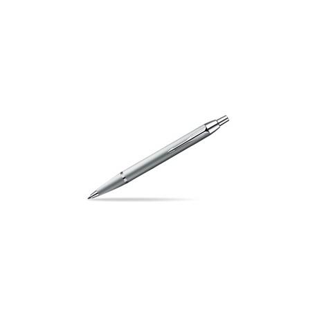 Parker Komplet Długopis+Pióro IM Srebrny CT