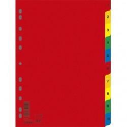 Przekładki Numeryczna Donau PP A4 1-10 Kolor
