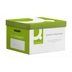 Pudło Archiwizacyjne  Q-connet Power Zbiorcze Wzmocnione, Zielone