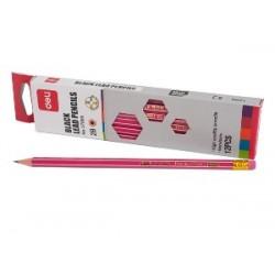 Ołówek Deli 2B z Gumką 37000