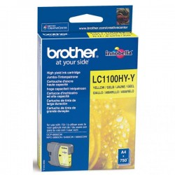 Tusz Brother LC-1100 YELLOW oryginal