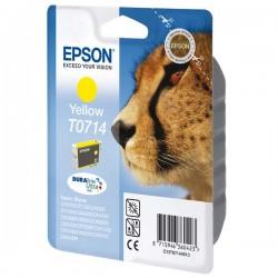 Tusz Epson T0714 YELLOW oryginal