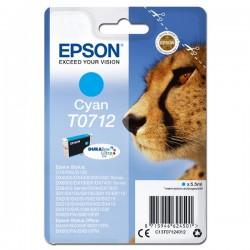 Tusz Epson T0712 CYAN oryginal