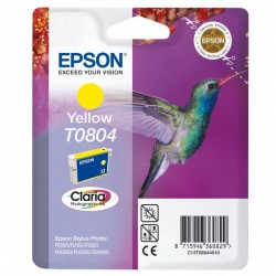 Tusz Epson T0804 YELLOW oryginal