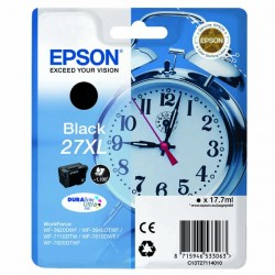 Tusz Epson T27114010 27XL BLACK oryginal