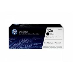 Toner HP 12A Q2612AD Black DWUPAK oryginal