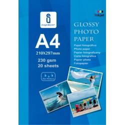 Papier Foto A4 230g 20 arkuszy Błyszczący JG230