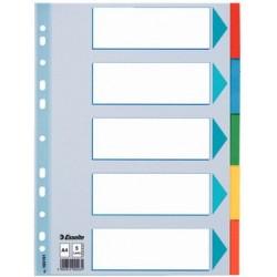 Przekładka A4 Esselte 1-5 Kolorów