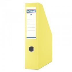 Pojemnik na dokumenty A4 75mm DONAU Żółty