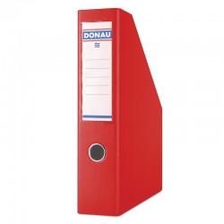 Pojemnik na dokumenty A4 75mm DONAU Czerwony
