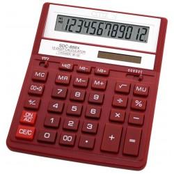 Kalkulator Citizen SDC-888XRD Czerwony