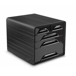 Zestaw 5 szufladek na biurko CEP SMOOVE Czarne