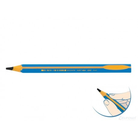 Ołówek  BIC  Beginners Boy Trójkątny Jumbo
