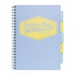 Kołozeszyt A4 200k PUKKA PAD Project Book Pastel Niebieski