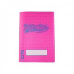 Zeszyt A5 Pukka Pad Flex Neon Pink Dots  60k