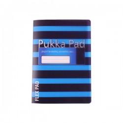 Zeszyt B5 Pukka Flex Pad Neon Blue 60k