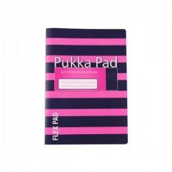 Zeszyt A5 Pukka Pad Flex Navy Pink 60k