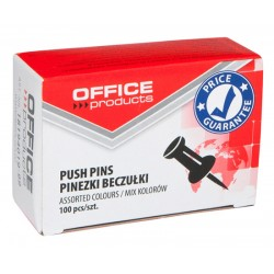 Pinezki Tablicowe Office Product a100