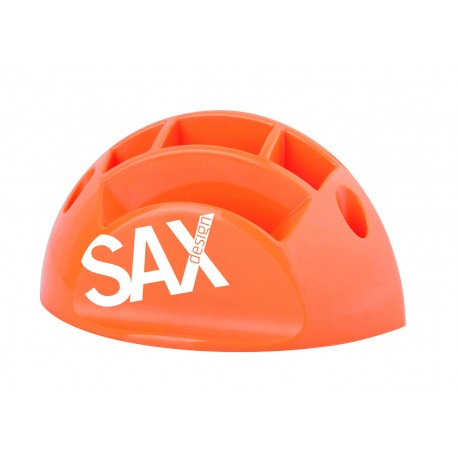 Przybornik Sax Biurkowy Pomarańczowy