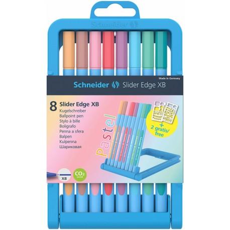 Zestaw Długopisów Schneider Pastel 8szt