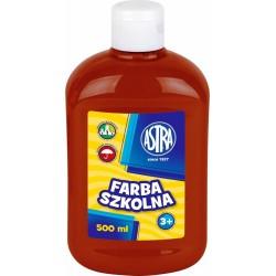 Farba Plakatowa Astra 500 ml. Brązowa