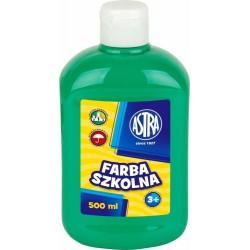 Farba Astra Plakatowa 500 ml. Szmaragdowa