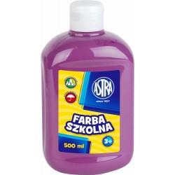 Farba Plakatowa Astra 500 ml. Śliwkowa